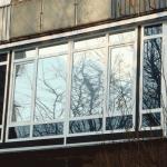 Тонировка балконов и лоджий