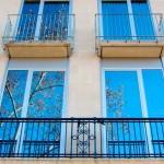 Тонирование фасадов зданий